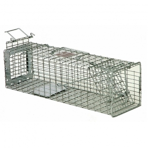 "Safeguard Cage Trap 18"" x 5"" x 5"" - Slide Release Back 00052818"